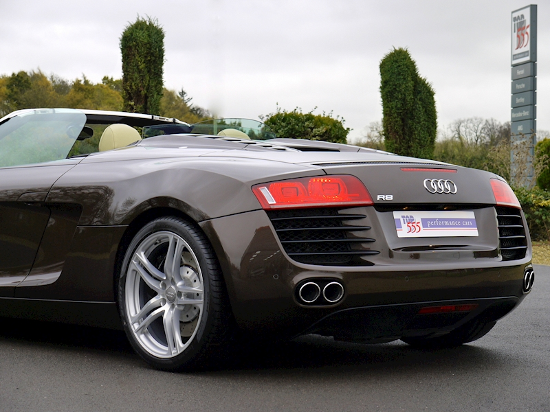 Audi R8 Spyder 4.2 V8 Manual - Large 29