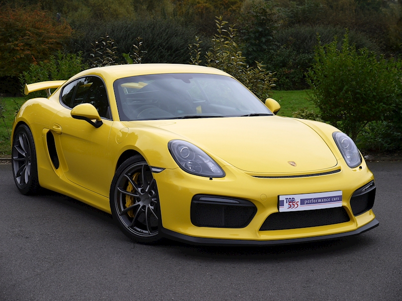 Porsche CAYMAN GT4 3.8 CLUBSPORT - Large 0