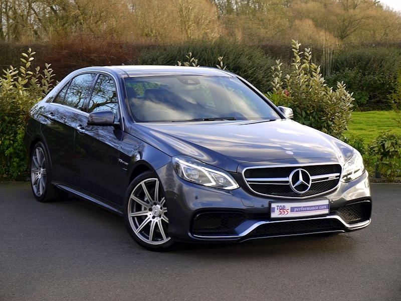 Mercedes E63 AMG 5.5 Saloon - Large 0