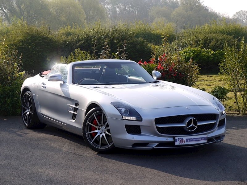 Mercedes SLS AMG Roadster 6.2 - Large 24