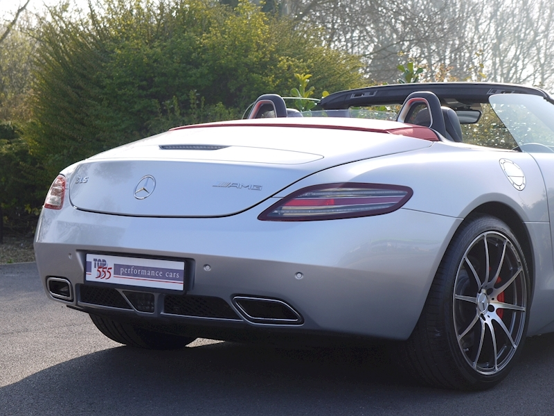 Mercedes SLS AMG Roadster 6.2 - Large 11