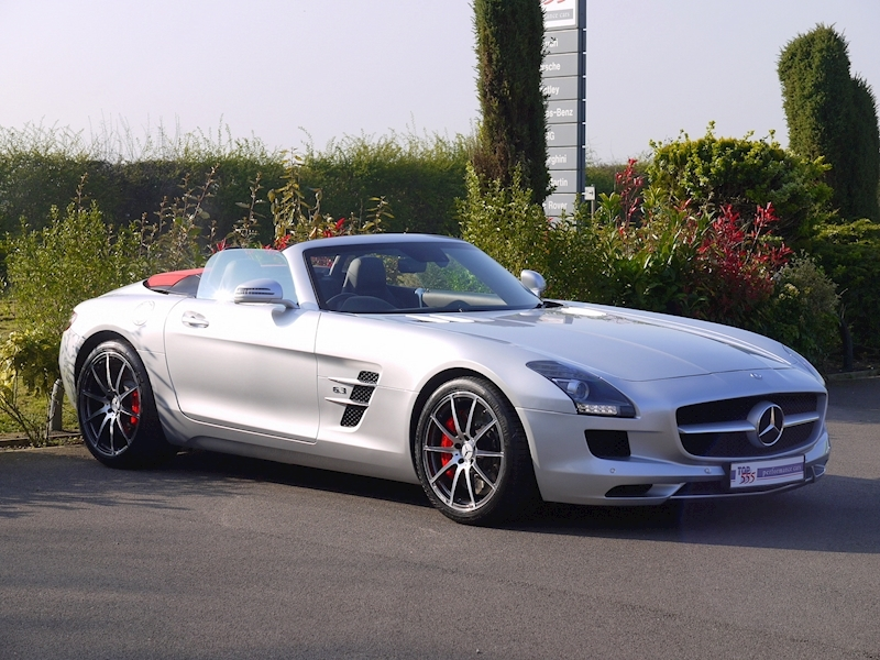 Mercedes SLS AMG Roadster 6.2 - Large 17