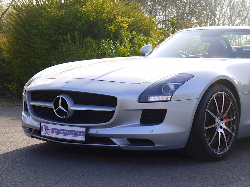 Mercedes SLS AMG Roadster 6.2 - Large 18