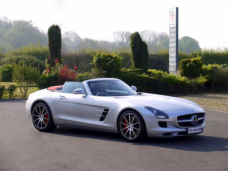 Mercedes SLS AMG Roadster 6.2 - Large 28