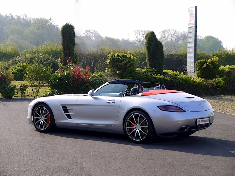 Mercedes SLS AMG Roadster 6.2 - Large 31