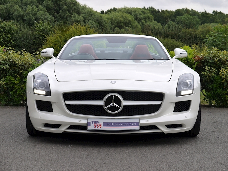 Mercedes-Benz SLS AMG Roadster 6.2 - Large 23
