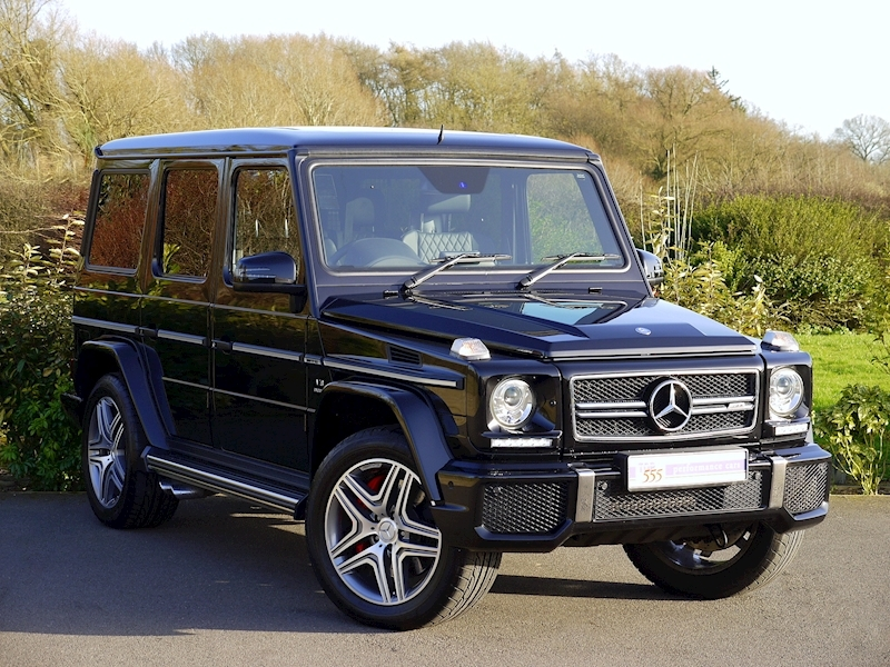 Mercedes G63 AMG 5.5 Bi-Turbo - Large 0