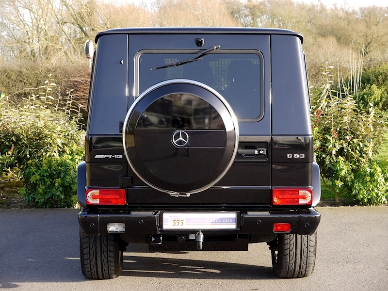 Mercedes G63 AMG 5.5 Bi-Turbo - Large 9