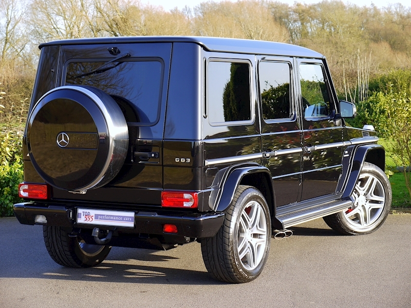 Mercedes G63 AMG 5.5 Bi-Turbo - Large 16
