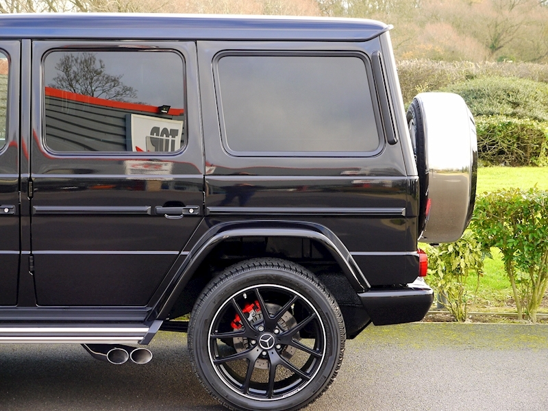 Mercedes G63 AMG 5.5 Bi-Turbo - Edition 463 Options - Large 3