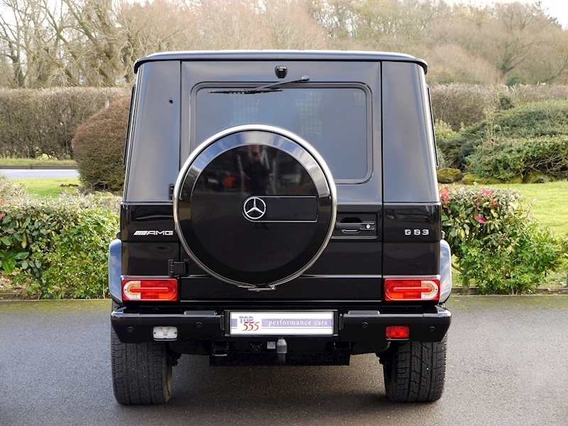Mercedes G63 AMG 5.5 Bi-Turbo - Edition 463 Options - Large 18