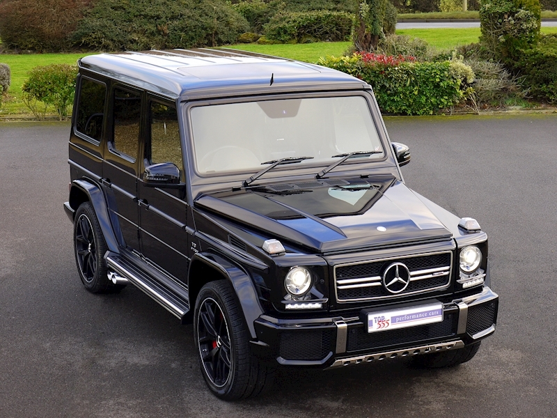 Mercedes G63 AMG 5.5 Bi-Turbo - Edition 463 Options - Large 0