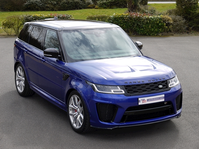Land Rover Range Rover Sport SVR - NEW MODEL - Large 0