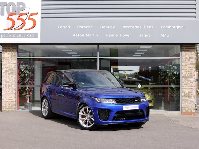 Land Rover Range Rover Sport SVR - NEW MODEL - Large 39