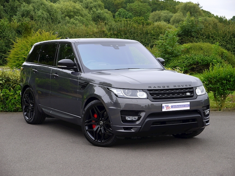 Land Rover Range Rover Sport 3.0 SDV6 Autobiography Dynamic - Stealth Pack - Large 17