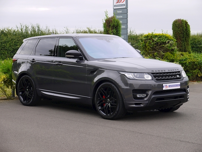 Land Rover Range Rover Sport 3.0 SDV6 Autobiography Dynamic - Stealth Pack - Large 19