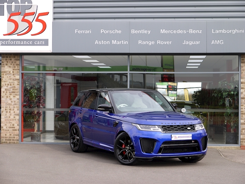 Land Rover Range Rover Sport 5.0 SVR - New Model - Large 34