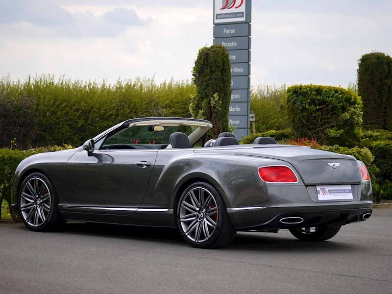 Bentley Continental GTC Speed 6.0 W12 - Large 11