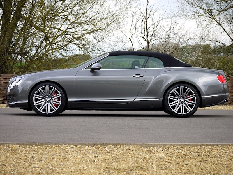 Bentley Continental GTC Speed 6.0 W12 - Large 23