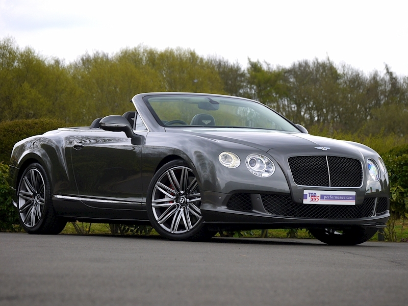 Bentley Continental GTC Speed 6.0 W12 - Large 35