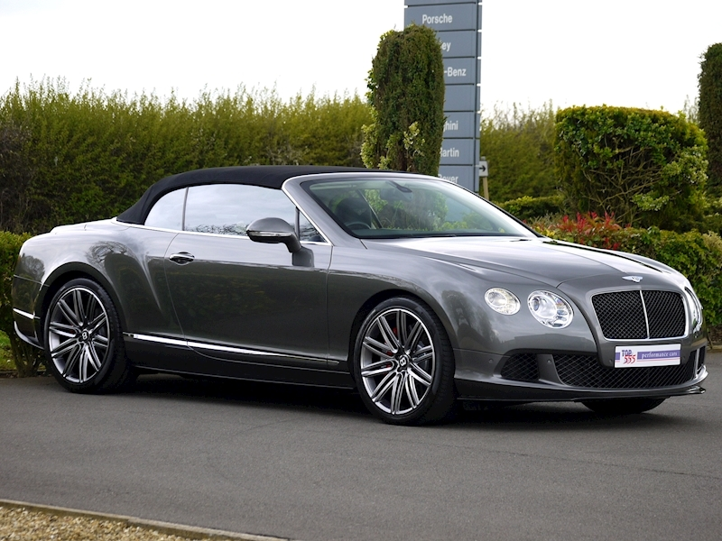 Bentley Continental GTC Speed 6.0 W12 - Large 36