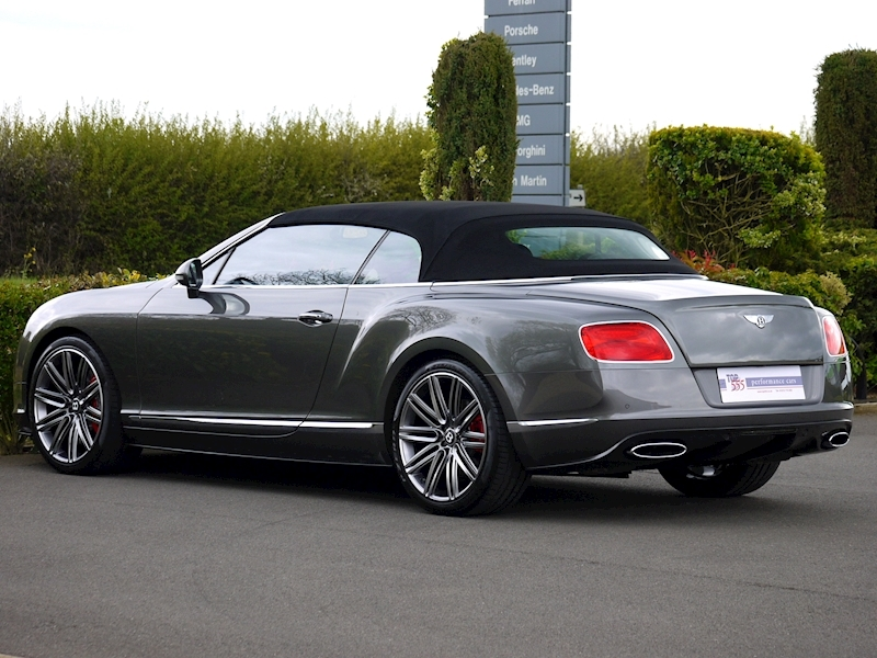 Bentley Continental GTC Speed 6.0 W12 - Large 37