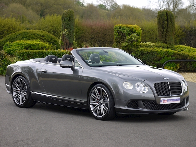 Bentley Continental GTC Speed 6.0 W12 - Large 38