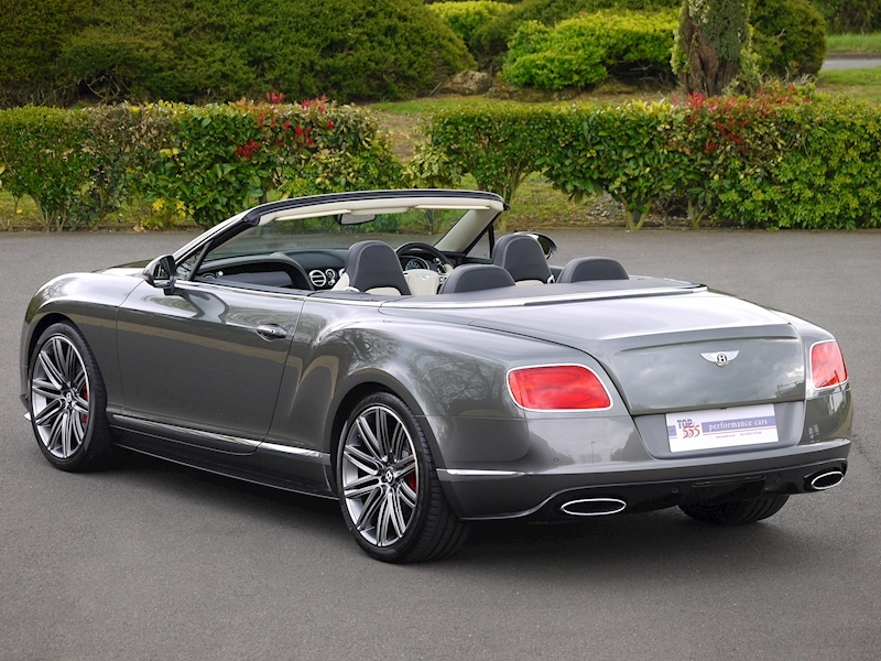 Bentley Continental GTC Speed 6.0 W12 - Large 39