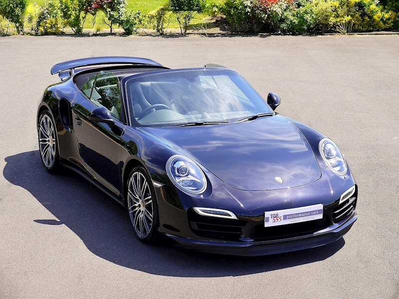 Porsche 911 (991) Turbo Cabriolet 3.8 PDK - Large 0