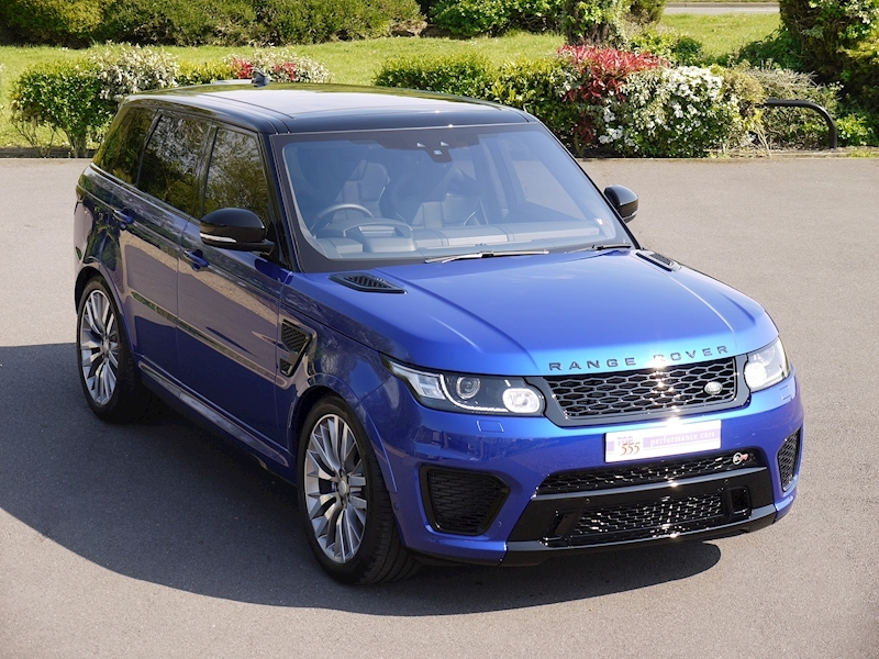 Land Rover Range Rover Sport 5.0 V8 SVR (2017 Model) - Large 0