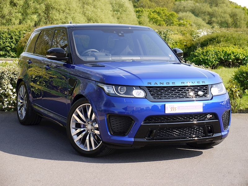 Land Rover Range Rover Sport 5.0 V8 SVR (2017 Model) - Large 22