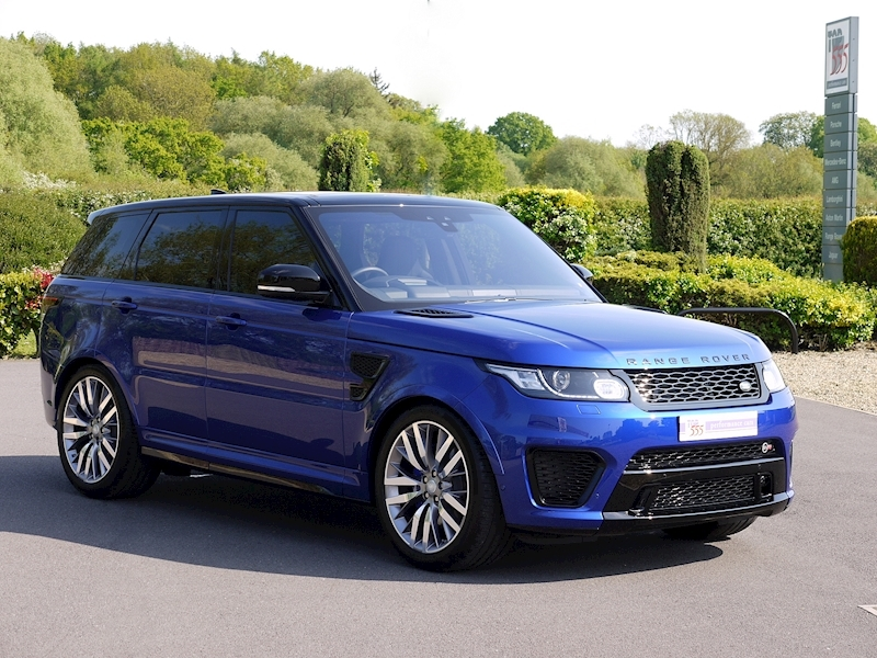 Land Rover Range Rover Sport 5.0 V8 SVR (2017 Model) - Large 28
