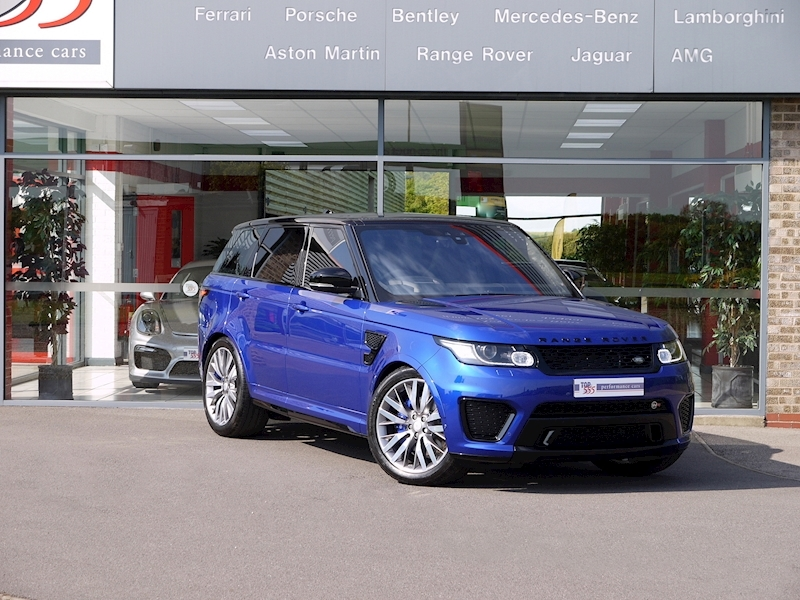 Land Rover Range Rover Sport 5.0 V8 SVR (2017 Model) - Large 31