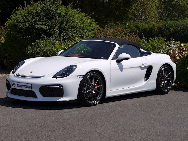 Porsche Boxster Spyder (981) 3.8 Manual - Large 9
