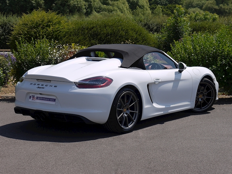 Porsche Boxster Spyder (981) 3.8 Manual - Large 10