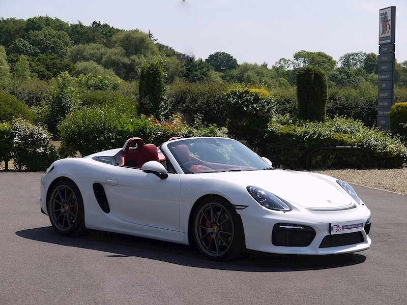 Porsche Boxster Spyder (981) 3.8 Manual - Large 34
