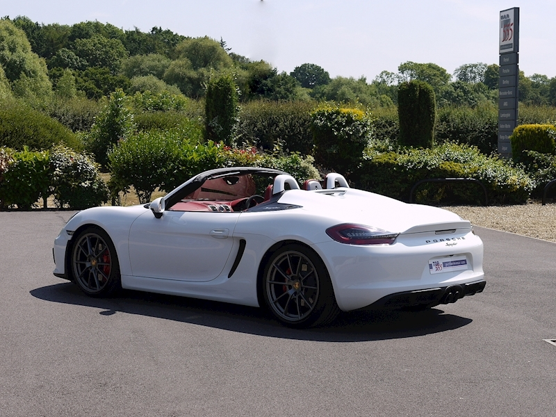 Porsche Boxster Spyder (981) 3.8 Manual - Large 36