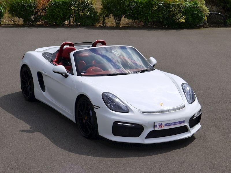 Porsche Boxster Spyder (981) 3.8 Manual - Large 0