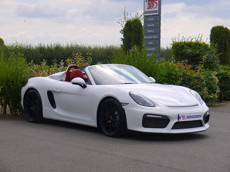 Porsche Boxster Spyder (981) 3.8 Manual - Large 13