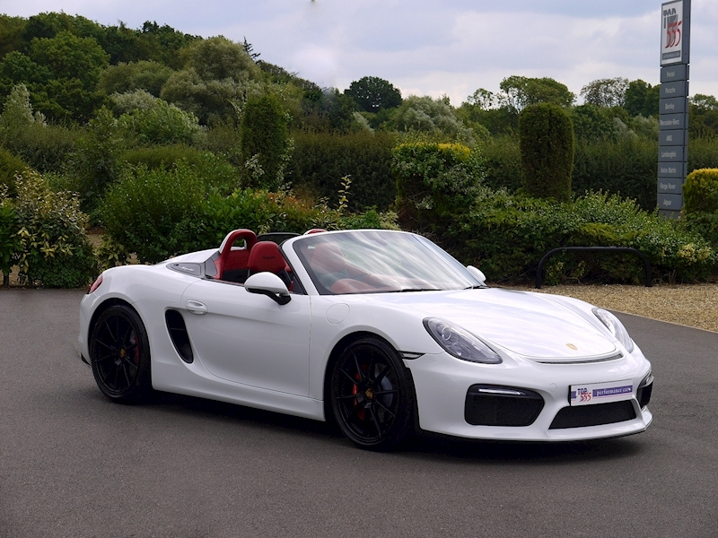 Porsche Boxster Spyder (981) 3.8 Manual - Large 28