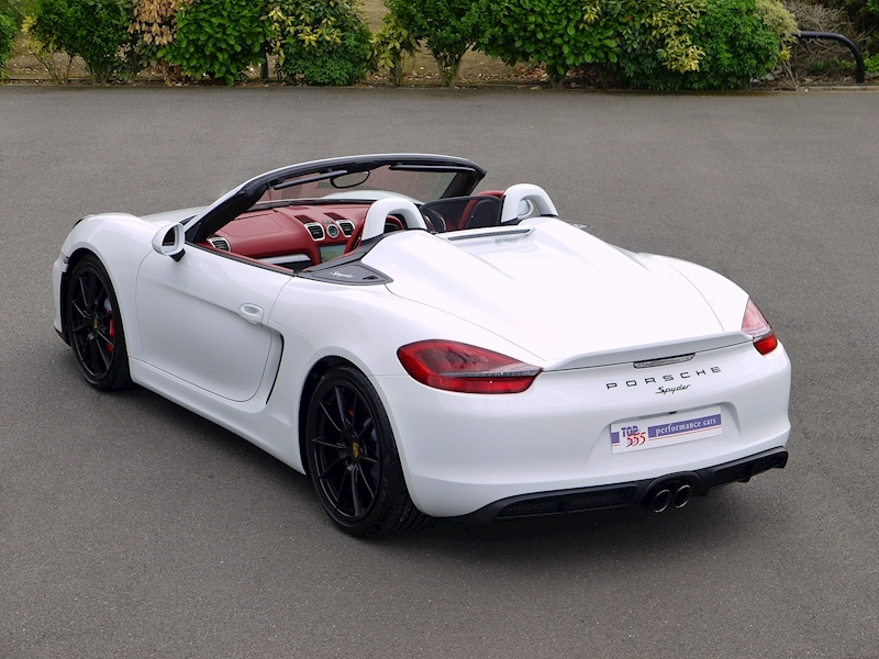 Porsche Boxster Spyder (981) 3.8 Manual - Large 29