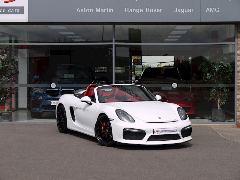 Porsche Boxster Spyder (981) 3.8 Manual - Large 38