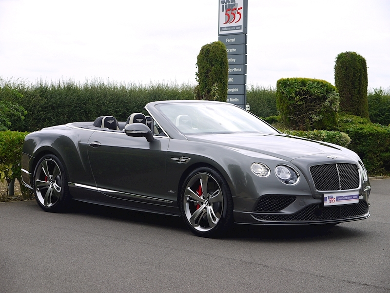Bentley Continental GT Speed 6.0 Convertible - Large 27