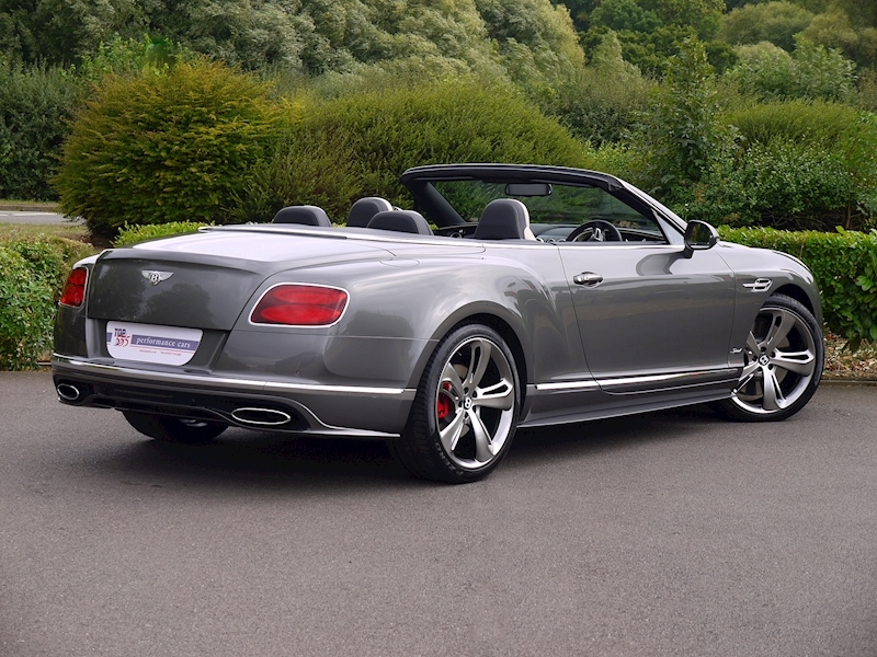 Bentley Continental GT Speed 6.0 Convertible - Large 35