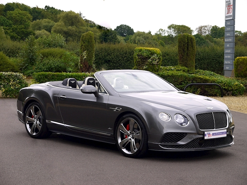 Bentley Continental GT Speed 6.0 Convertible - Large 43