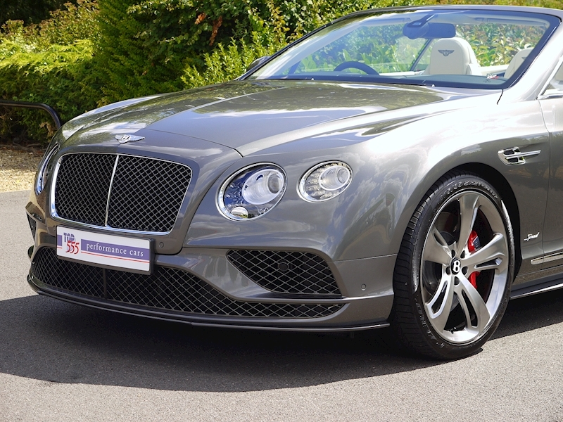Bentley Continental GT Speed Convertible - Large 17
