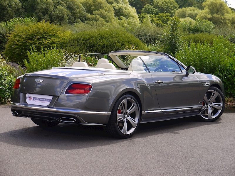 Bentley Continental GT Speed Convertible - Large 21