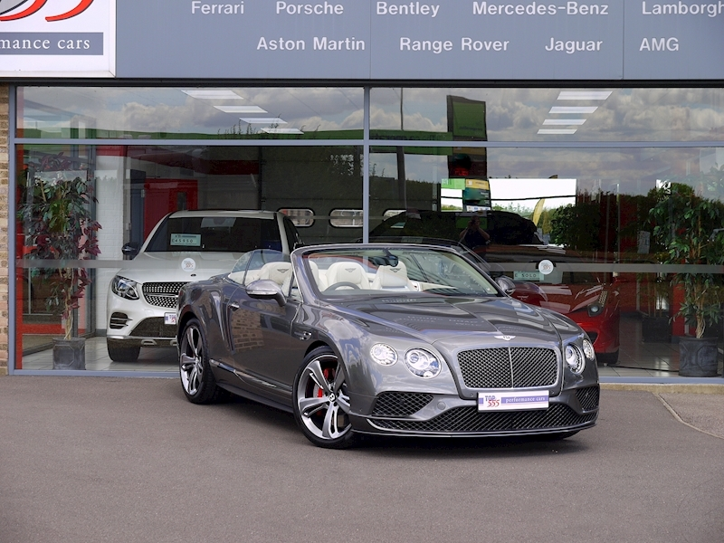 Bentley Continental GT Speed Convertible - Large 32