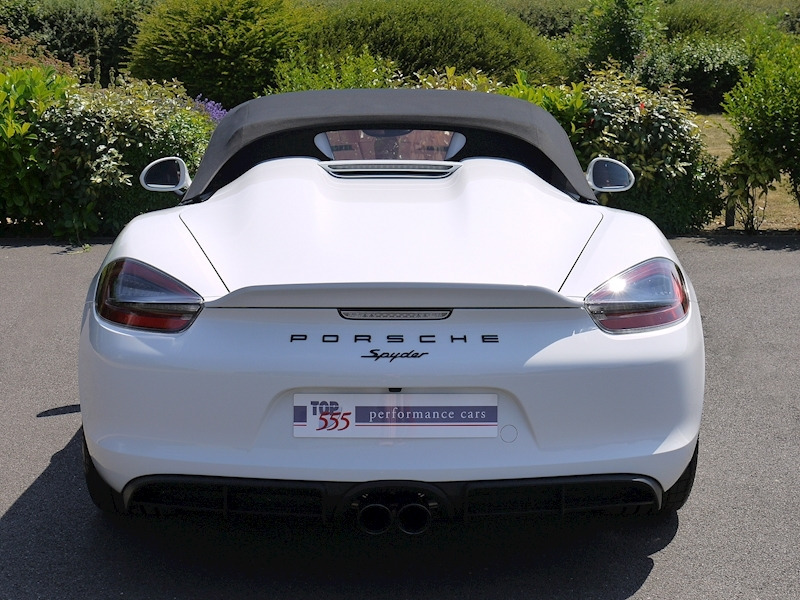 Porsche Boxster Spyder (981) 3.8 Manual - Large 8