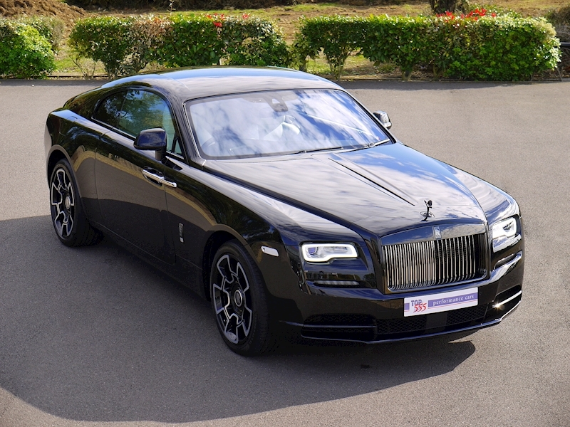 Rolls-Royce Wraith 'Black Badge' - Large 0